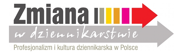 image: Zmiana w dziennikarstwie. Profesjonalizm i kultura dziennikarska w Polsce...