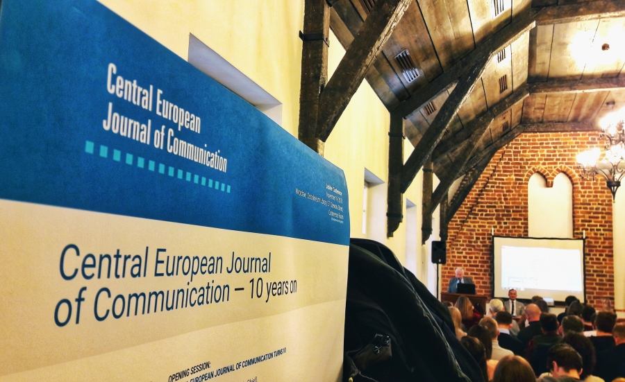 image: 10-lecie Central European Journal of Communication...