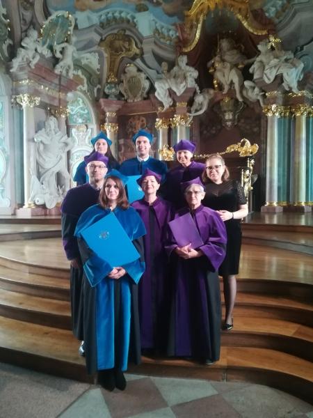image: Uroczyste wręczenie dyplomów w Oratorium Marianum...